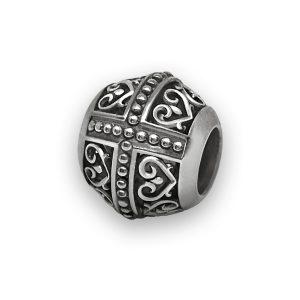 Бусина «София» серебряная