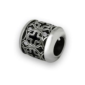 Бусина «Благо» серебряная