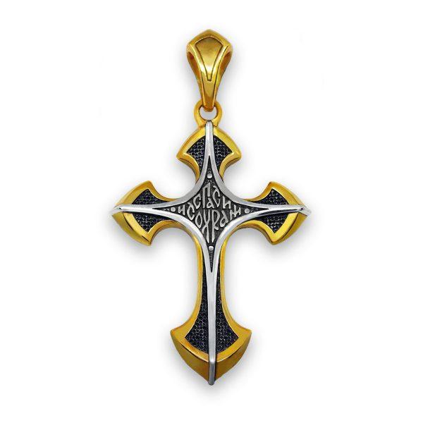 православный серебряный крест